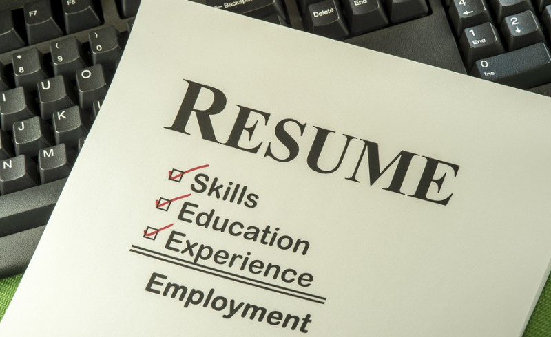 Successful Candidate Resume Requires Skills Education And Experience To Find Employment